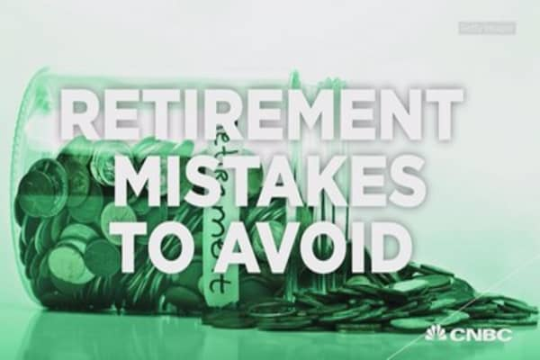 The retirement planning mistakes to avoid