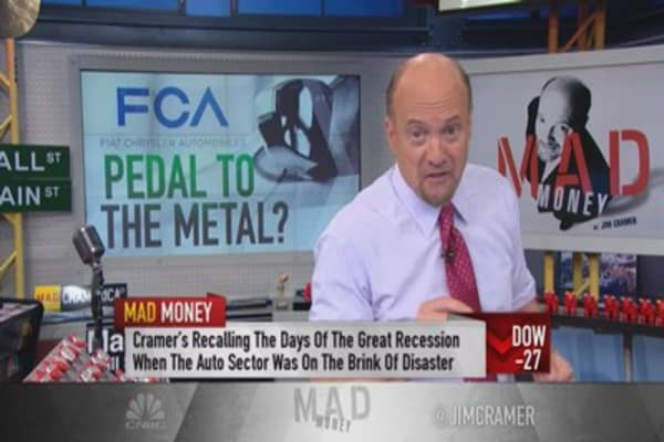 Cramer: Fiat Chrysler trouncing Ford & GM
