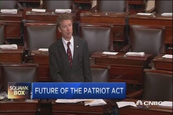 Sen. Rand Paul ends Patriot Act 'filibuster'