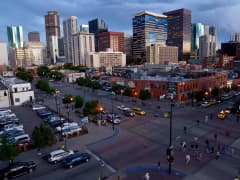 Skyline of Denver, Colorado