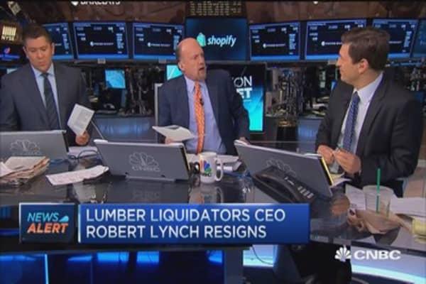 Cramer: LL CEO exit not surprising