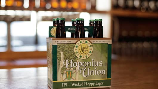 Jack's Abby Brewing, Hoponius Union Beer