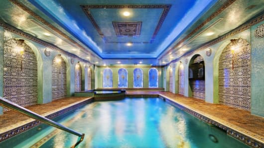 Pool at 232 East 63rd Street, New York