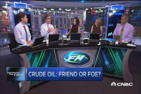 Crude oil: Friend or foe?