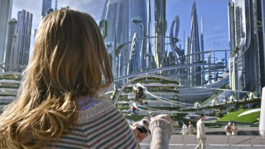 A still from Walt Disney's Tomorrowland.