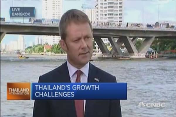 Tracking the slowdown in Thai credit spending