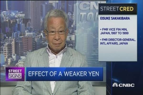 Mr. Yen: '2015 will be Japan's recovery period'
