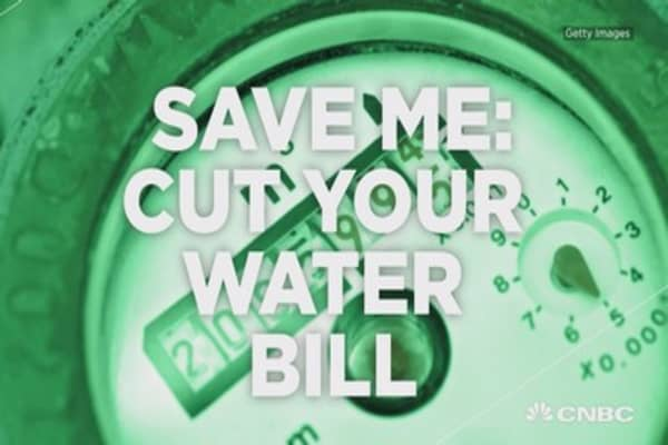 Cutting your water bill