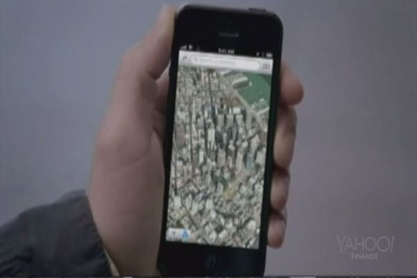 Apple vs. Google: Mapping apps