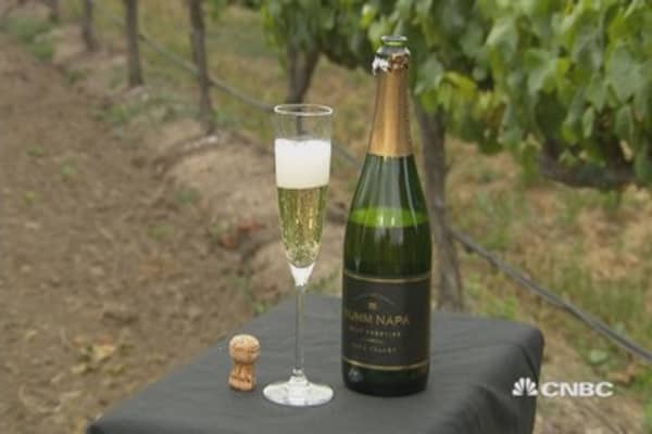 California wineries go to wastewater