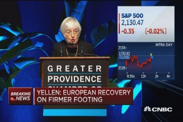 Yellen: Inflation will rise 2% as econ strengthens