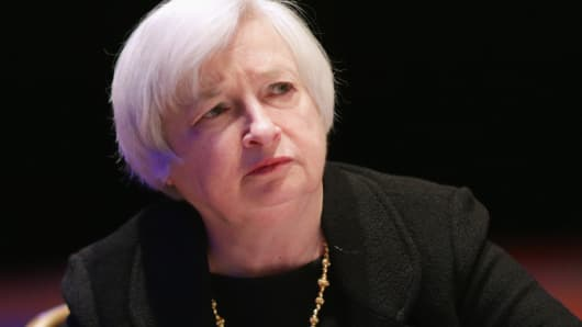 Federal Reserve Bank Board Chair Janet Yellen.