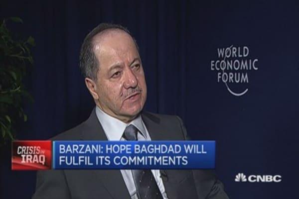 Kurdistan will not be taken by ISIS: President