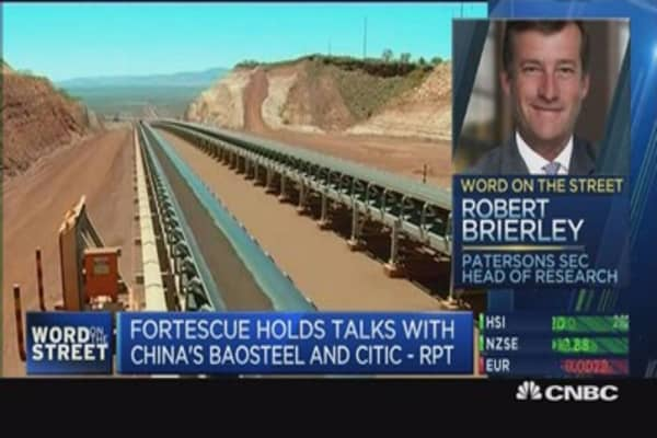 Who's eyeing Fortescue Metals?
