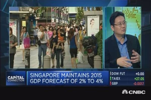 Don't cheer Singapore's Q1 GDP just yet: Pro