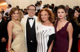 Jessica Alba, David O. Russell, Diane von Furstenberg, and Selena Gomez attend the 'Charles James: Beyond Fashion' Costume Institute Gala at the Metropolitan Museum of Art on May 5, 2014 in New York City.