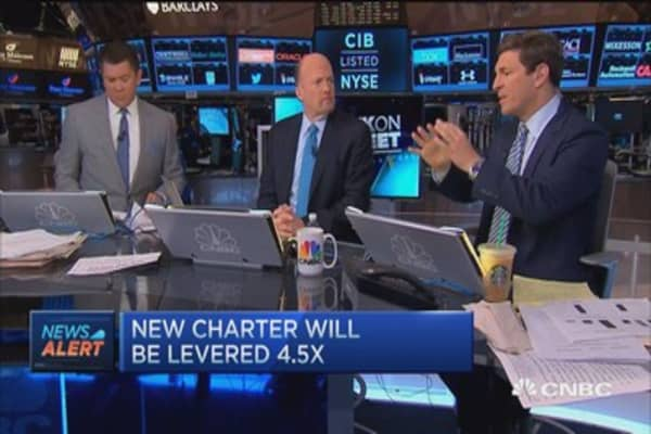 Charter strikes a deal to buy TWC