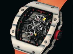 Tourbillon RM 27-02 Rafael Nadal Richard Mille watch.