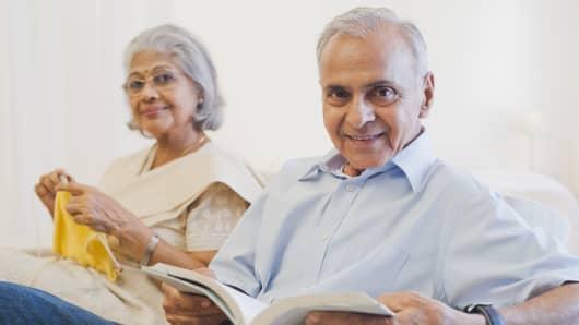 Indian couple retirement