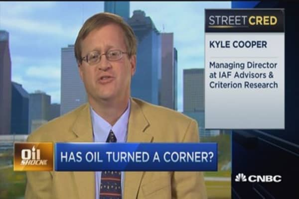 Has oil turned a corner?