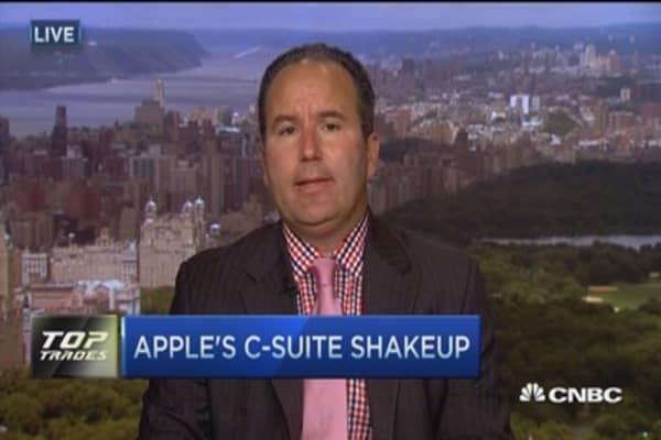 Apple's c-suite shakeup