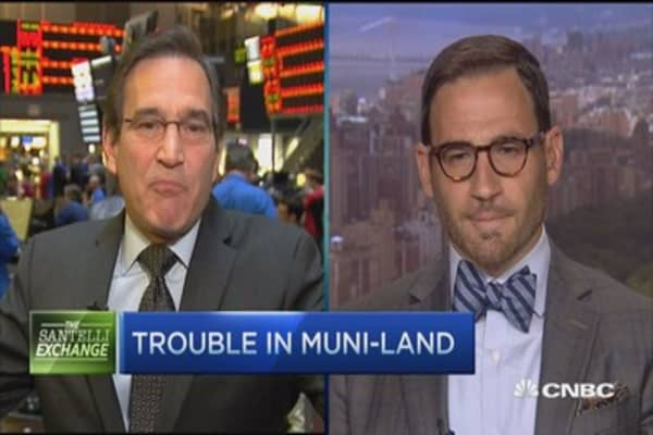 Santelli Exchange: Trouble in muni-land