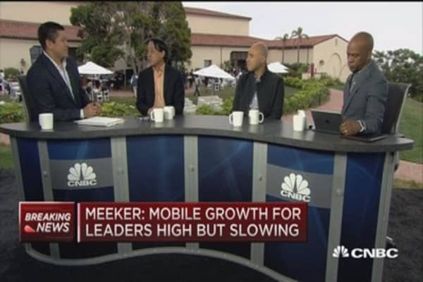 Meeker: Internet user growth solid, but slowing