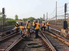 MTA copper cable theft