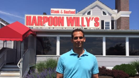 James Scarponi is co-owner of Harpoon Willy's on the Jersey Shore. Generators are essential for surviving hurricane season.