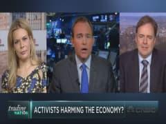 Activist investors hurting U.S. economy?