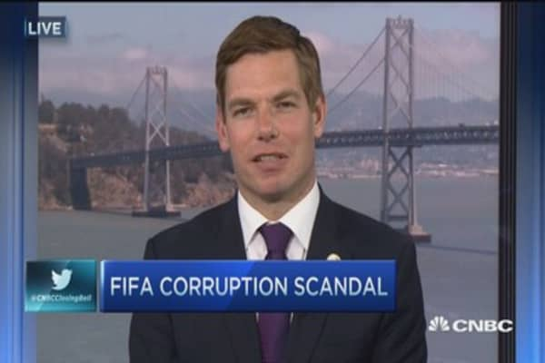 FIFA needs new leadership: Congressman