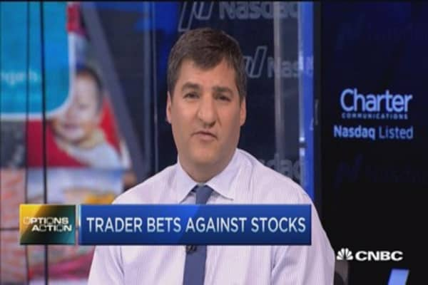 Options Action: Traders bet against stocks