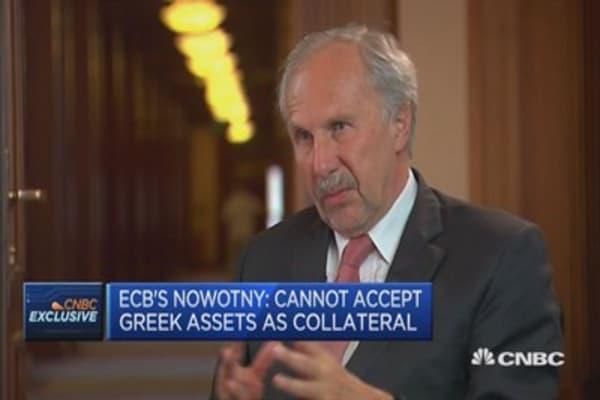 Need to distinguish noise from fact in Greek talks: Nowotny