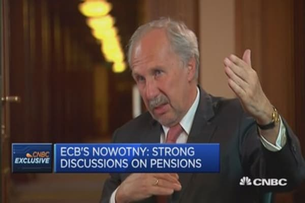 Have to be careful about ECB's QE exit: Nowotny