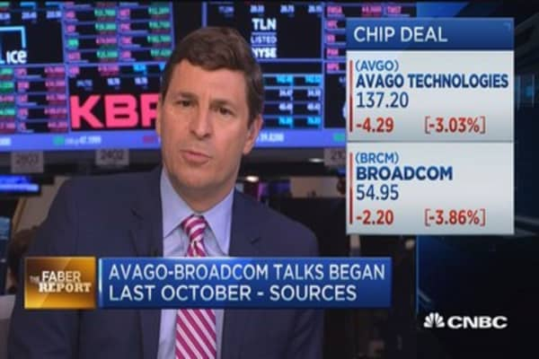 Faber Report: Avago to buy Broadcom
