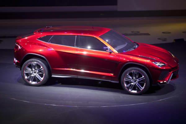 The Lamborghini SpA Urus SUV.