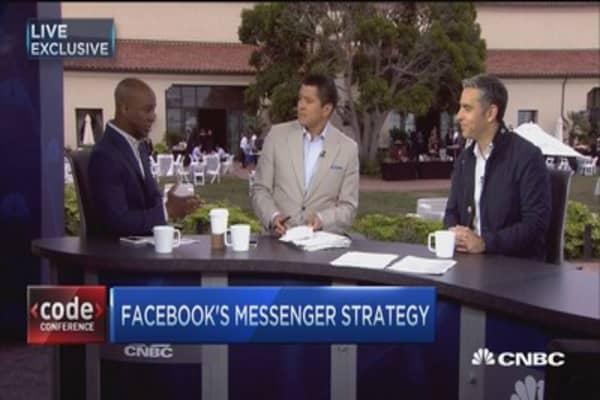 Facebook Messenger's strategy
