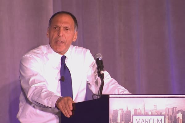 Former Lehman Brothers' CEO, Dick Fuld