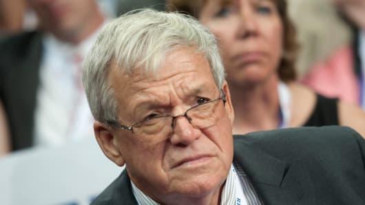 Former Speaker of the US House of Representatives Dennis Hastert