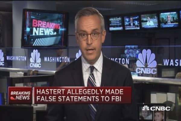 Former House Speaker Dennis Hastert indicted