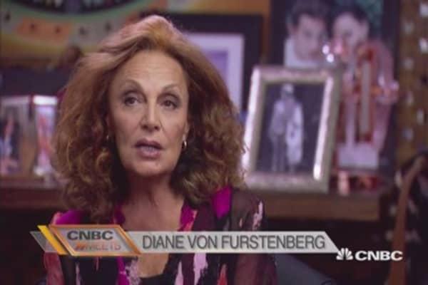 CNBC Meets: Diane von Furstenberg Part 1