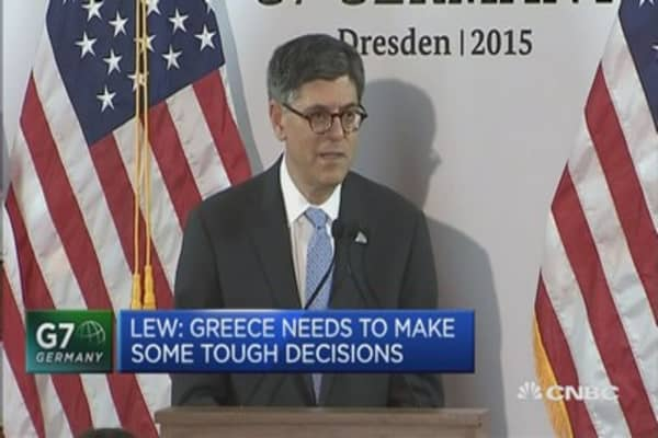 Greece needs to make some tough decisions: Lew