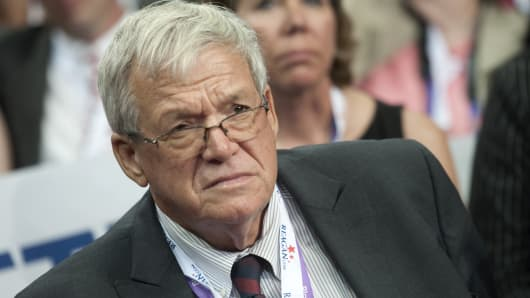 Former Speaker of the House Dennis Hastert.