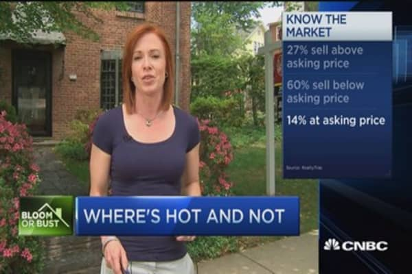 'Ballistic' housing market: Trader
