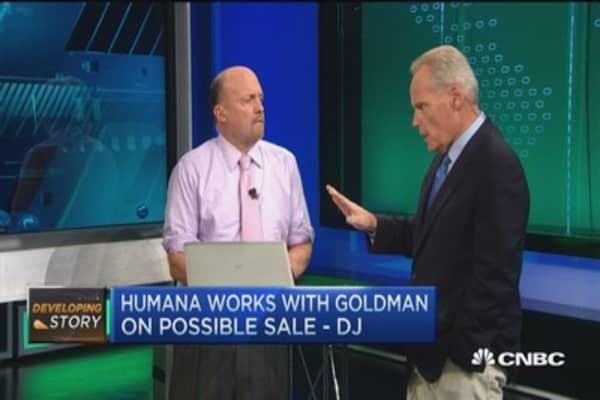 Humana works with Goldman on possible sale: DJ