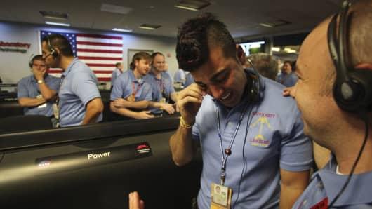 NASA Activity lead Bobak Ferdowsi.