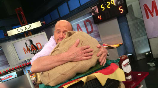 Jim Cramer's Burger Love.
