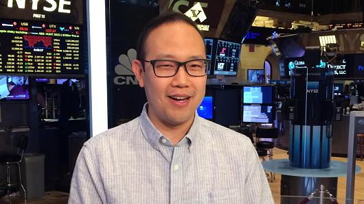 Boxed CEO Chieh Huang.