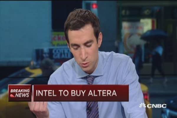 Intel to buy Intel for $54/share