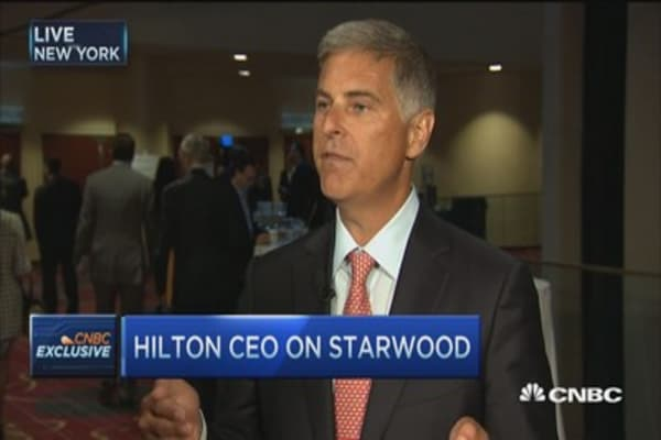 Business is very good right now: Hilton CEO